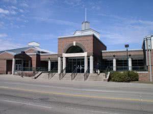 Shirk Center at Wesleyan University in Bloomington Illinois .