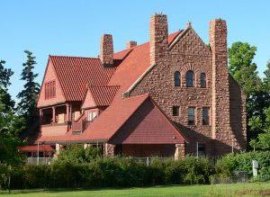 A building on the University of Nebraska at Kearney campus - Hidden Midwest Gems