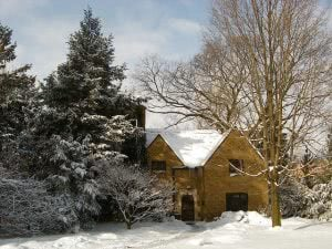 Winter at Saint Mary's College - Hidden Midwest Gems