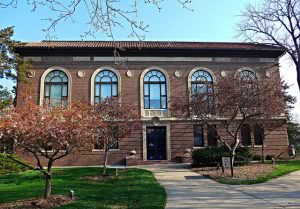 A building on the Nebraska Wesleyan University campus - Hidden Midwest Gems