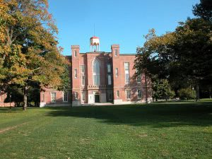 A building on the Knox College campus - Hidden Midwest Gems