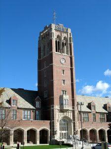 A building on the John Carroll University campus - Hidden Midwest Gems