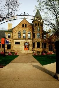 A building on the Hope College campus - Hidden Midwest Gems