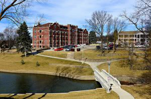 Winter at the Doane University-Arts & Sciences campus - Hidden Midwest Gems