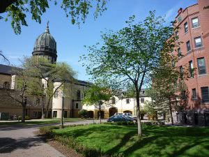 Buildings on the College of Saint Benedict campus - Hidden Midwest Gems