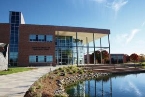 A view of a building on the Cedarville University campus - Hidden Midwest Gems