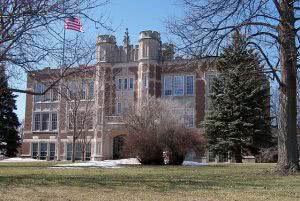 Winter at the Augustana University campus - Hidden Midwest Gems