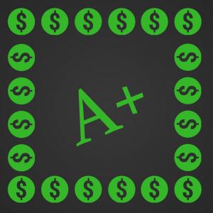 It's a myth that good grades get financial aid