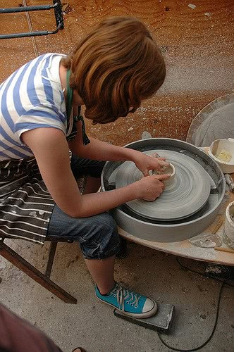 Interested in pottery? There are pottery-related hobby scholarships out there