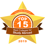 Top 15 Colleges for Study Abroad