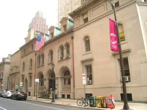 A building at the Curtis Institute of Music.
