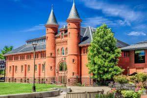 Beckham Hall at Wesleyan University.