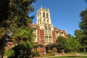 University of the Pacific Conservatory of Music building.