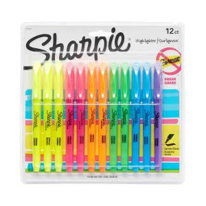 A package of Sharpies in multiple colors Click to view its Amazon page.