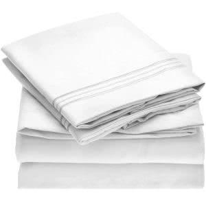 Mellanni microfiber bed sheets -- bedding and towels