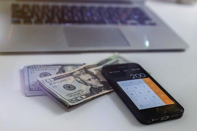 Money and phone calculator