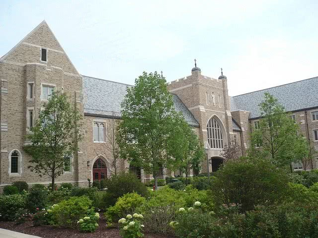 The University of Notre Dame is a private college