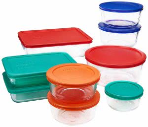 college apartment essentials Pyrex glass food containers