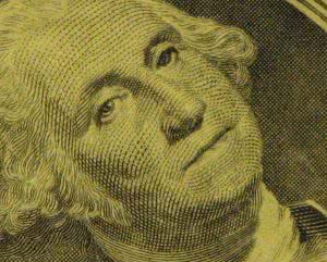 Dollar bill for student loans