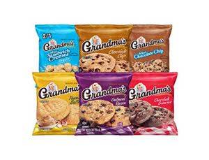 Grandma's Cookies best snacks