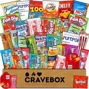 CraveBox best snacks