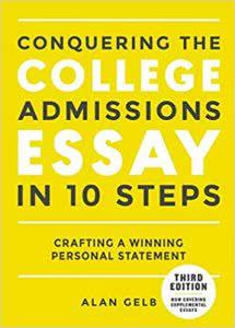 Conquering the College Admission Essay best college prep books