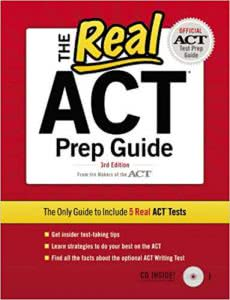 The Real ACT Prep Guide best college prep books