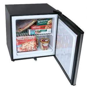 EdgeStar stainless steel dorm refrigerator