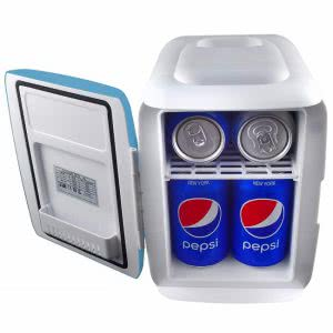 Cooluli mini electric dorm refrigerator