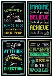 L & O Goods motivational posters college gifts