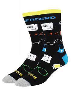 HappyPop computer science socks