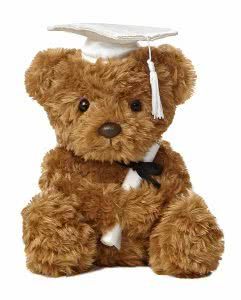 Aurora graduation bear