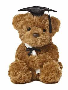 Aurora graduation bear gifts for future teachers