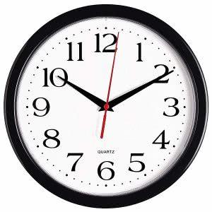 Bernhard black clock