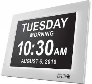 American Lifetime digital clock