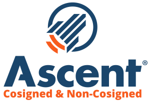 Ascent company logo.