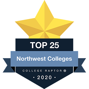 Best Northwest Colleges Badge