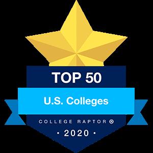 Best US Colleges Badge