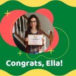 Scholarship Winner Ella Denham