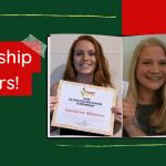 Two Scholarship Winners