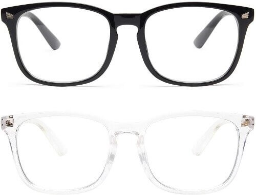 Livho computer glasses. Clicking will lead to its Amazon page.