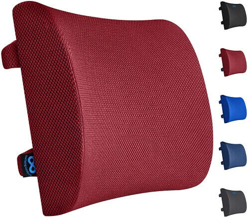 Everlasting Comfort pillow. Clicking will lead to its Amazon page.
